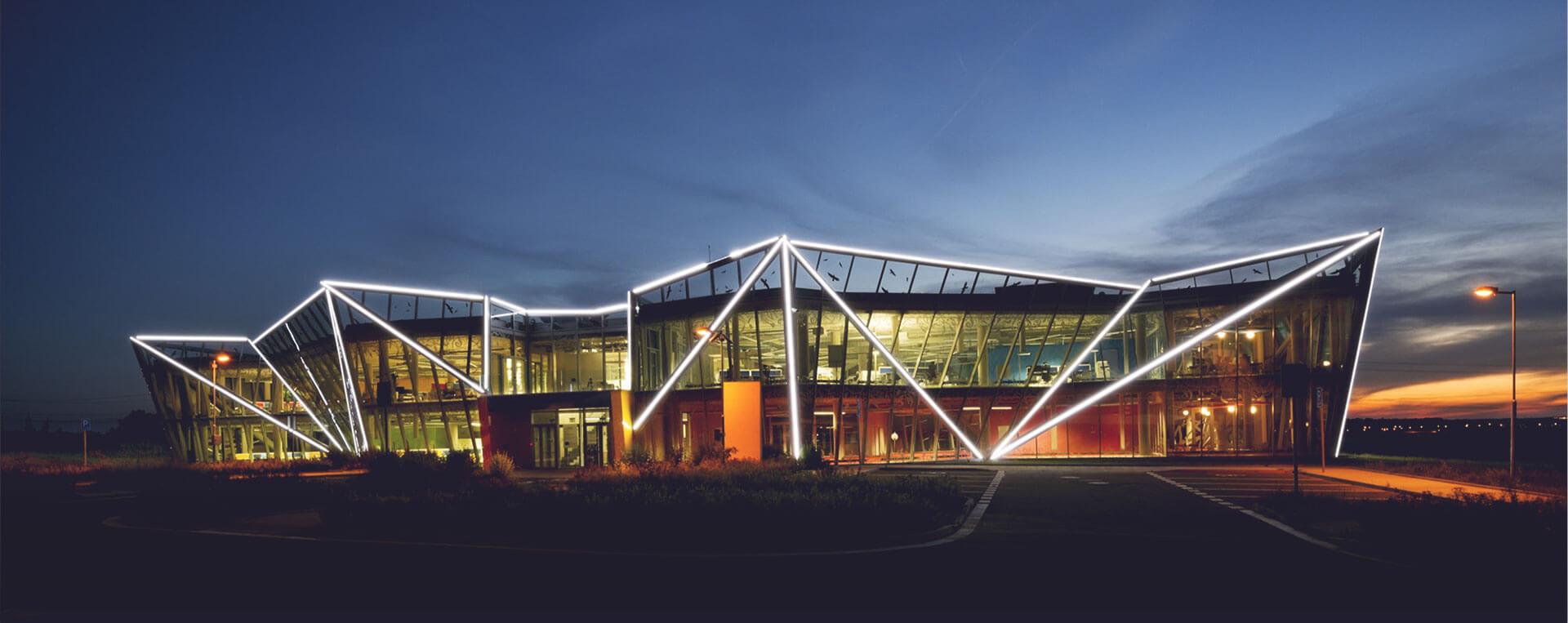 Inovační centrum Innocrystal Praha
