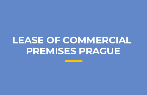 LEASE OF COMMERCIAL PREMISES PRAGUE