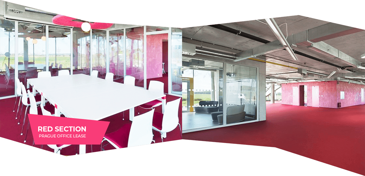 Red section – Prague office lease