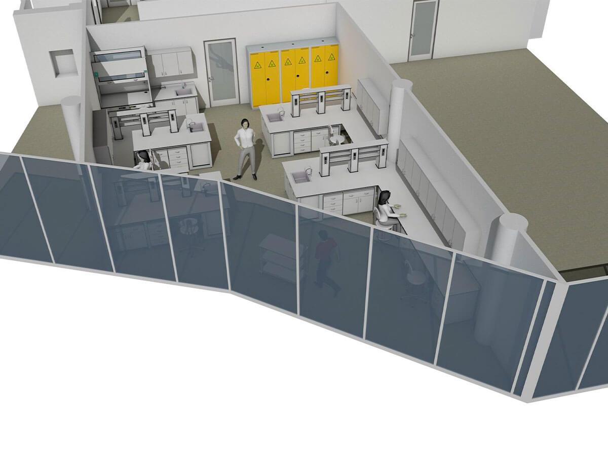 InnoCrystal Praha nové laboratorní prostory