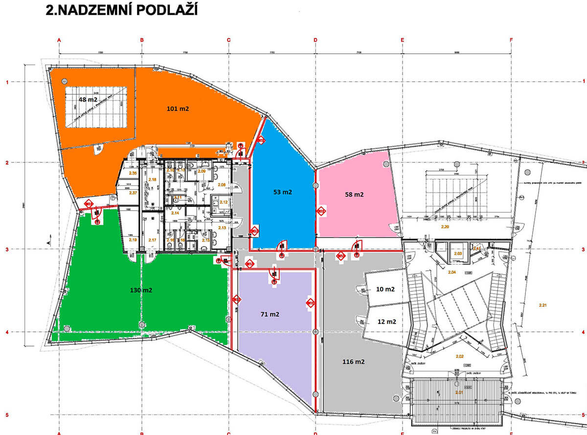 New biological laboratories with the total area of 570 m²